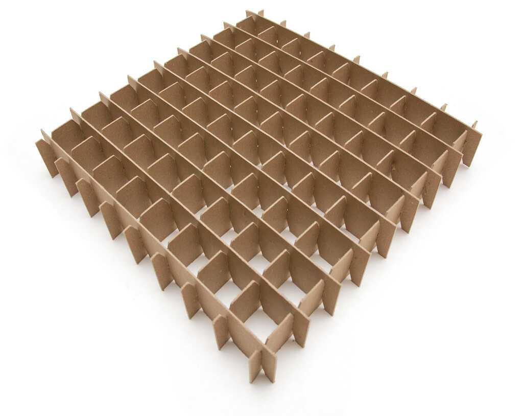 cardboard box inserts chipboard box partition 1size b wht